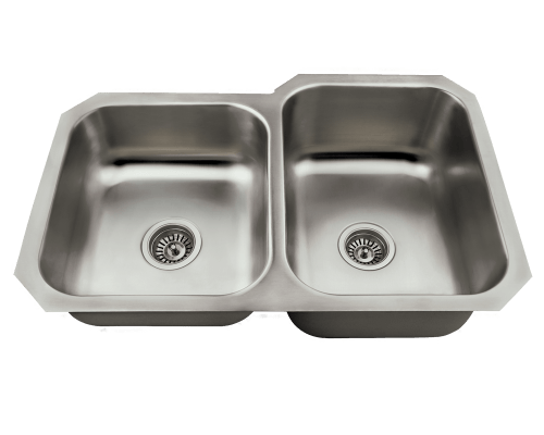 US1053R Offset Stainless Steel Kitchen Sink