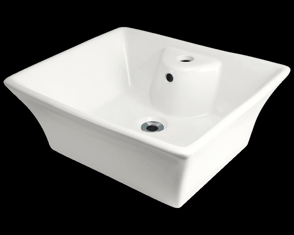 V150 Bisque Vessel Sink