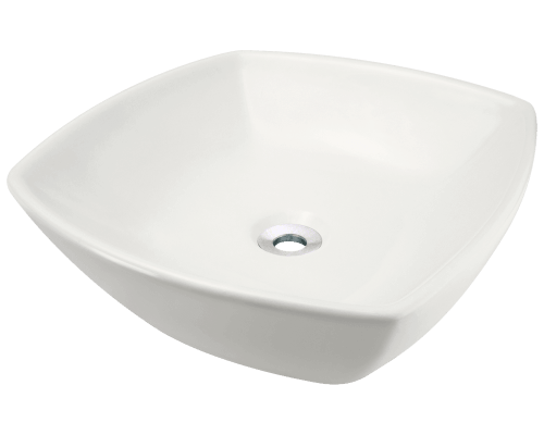 V1802-Bisque Porcelain Vessel Sink