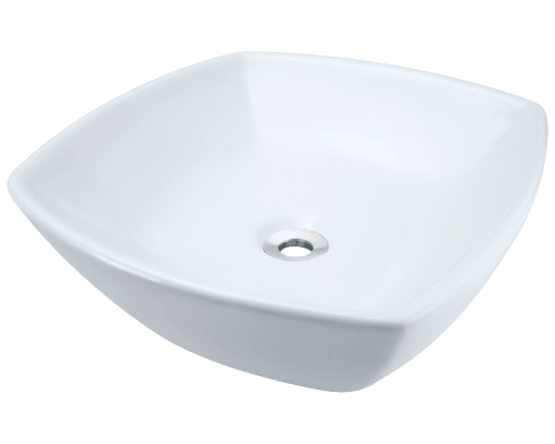 V1802-White Porcelain Vessel Sink