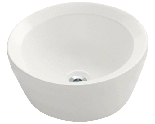 MR Direct V190-Bisque V190-Bisque Porcelain Vessel Sink