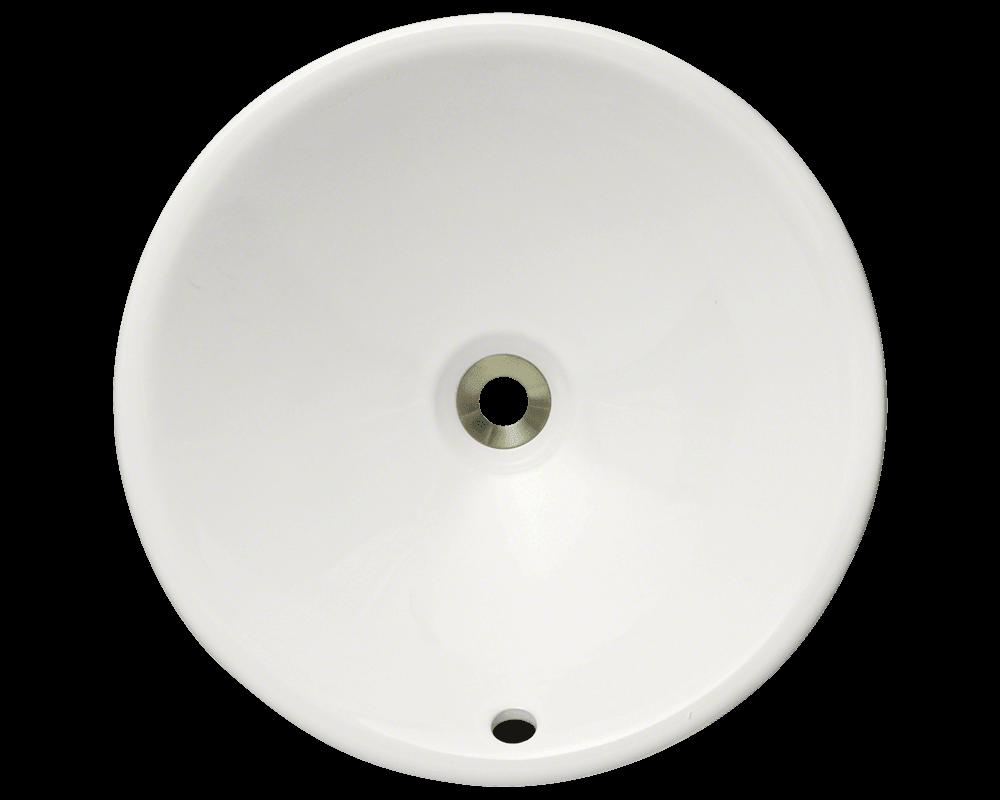 V2200 Bisque Bisque Porcelain Vessel Sink
