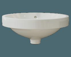 V350 Bisque Porcelain Vessel Sink