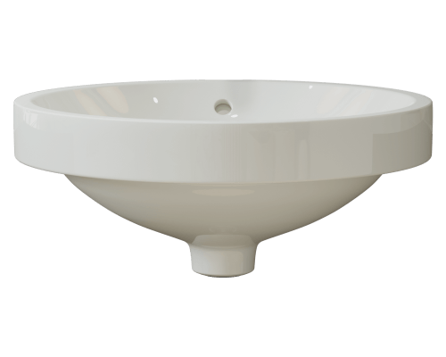 MR Direct V22182-Bisque V22182-Bisque Porcelain Drop-In Sink