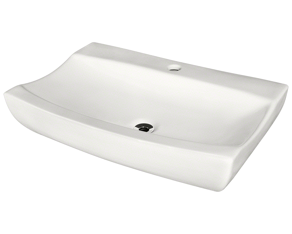 MR Direct V2302-Bisque Porcelain Vessel Sink