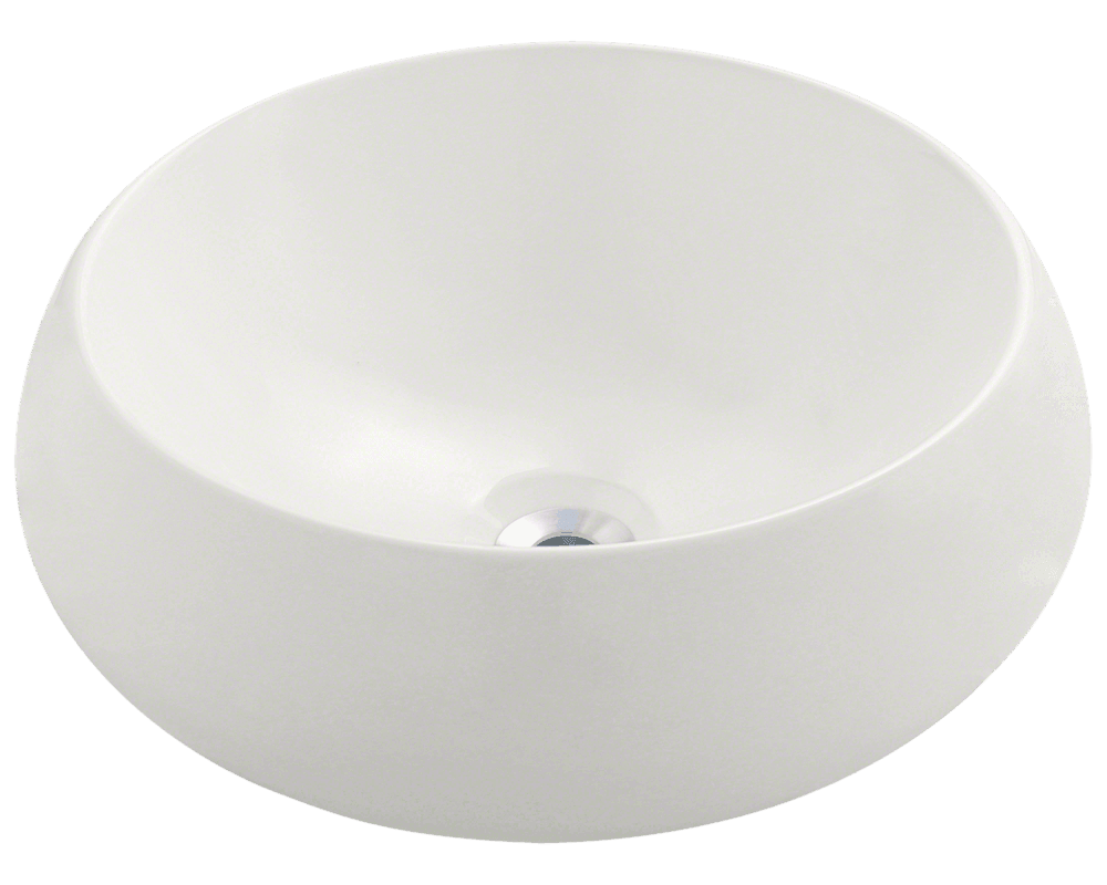MR Direct V280-Bisque Porcelain Vessel Sink