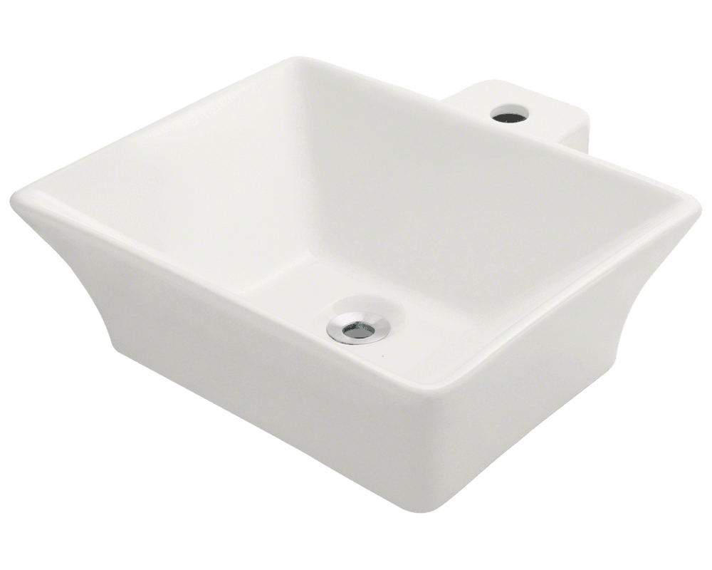 MR Direct V290-Bisque Vessel Porcelain Sink