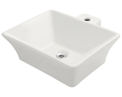 MR Direct V290-Bisque V290-Bisque Vessel Porcelain Sink