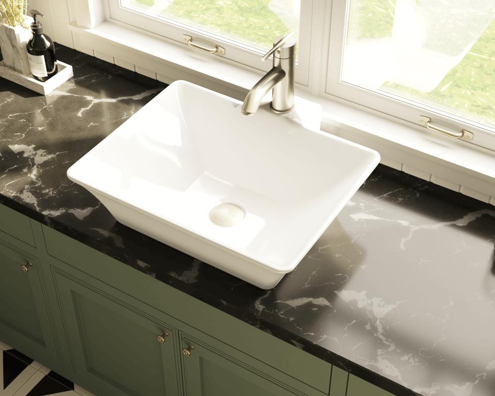 v white white vessel porcelain sink porcelain kitchen sink V White Vessel Porcelain Sink