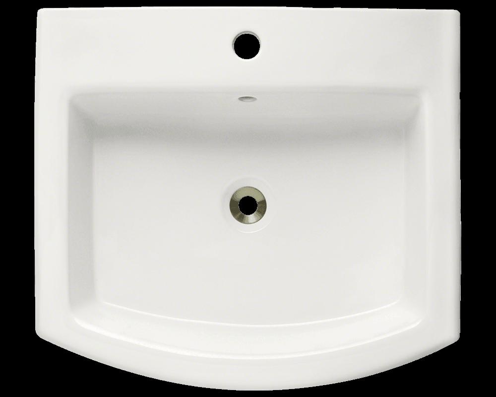 V300 Bisque Bisque Vessel Porcelain Sink