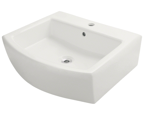 V300-Bisque Vessel Porcelain Sink