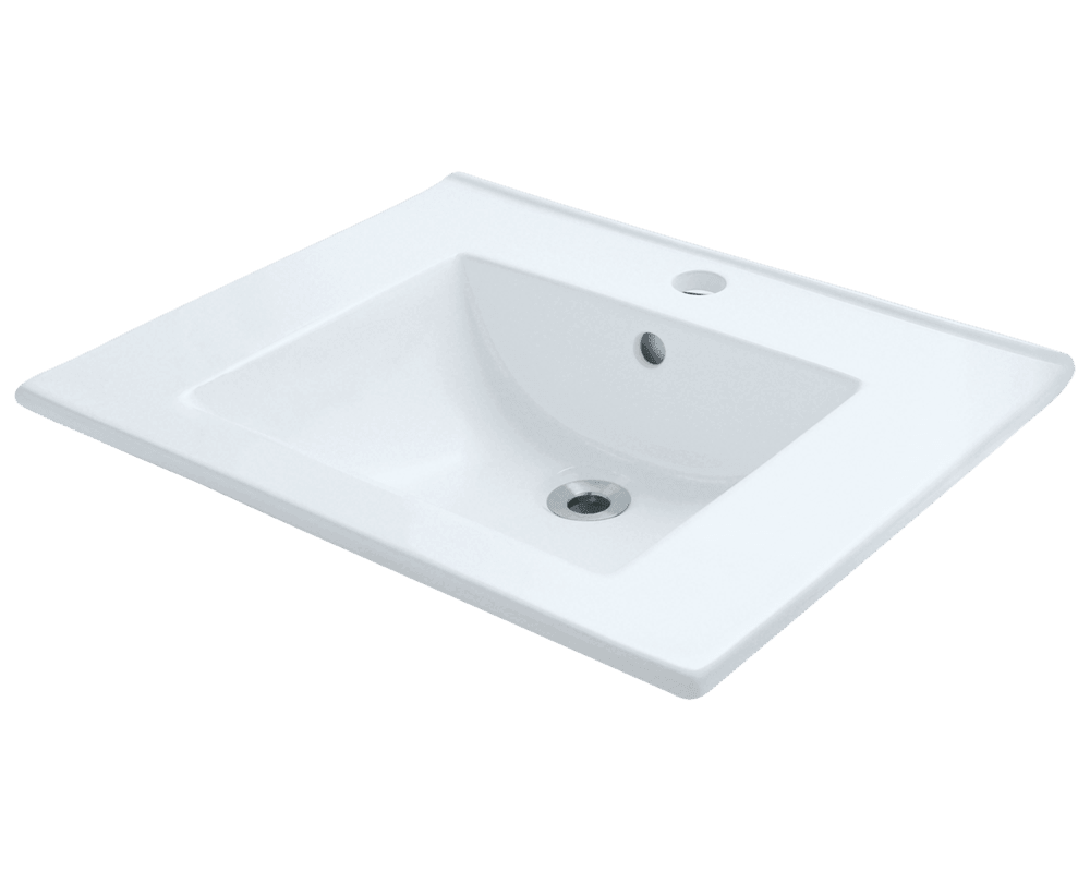 MR Direct V310-White Porcelain Vessel Sink