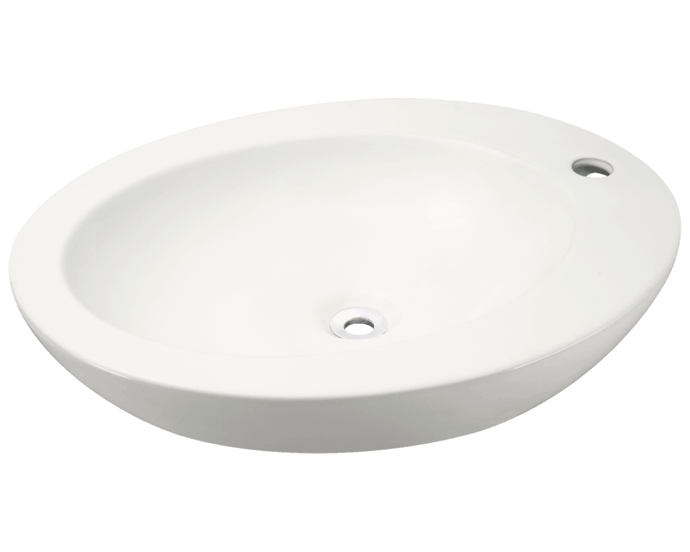MR Direct V3202-Bisque Porcelain Vessel Sink