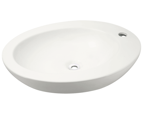 MR Direct V3202-Bisque V3202-Bisque Porcelain Vessel Sink