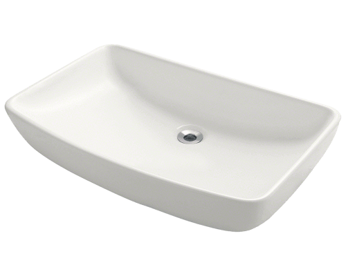 MR Direct V350-Bisque V350-Bisque Porcelain Vessel Sink
