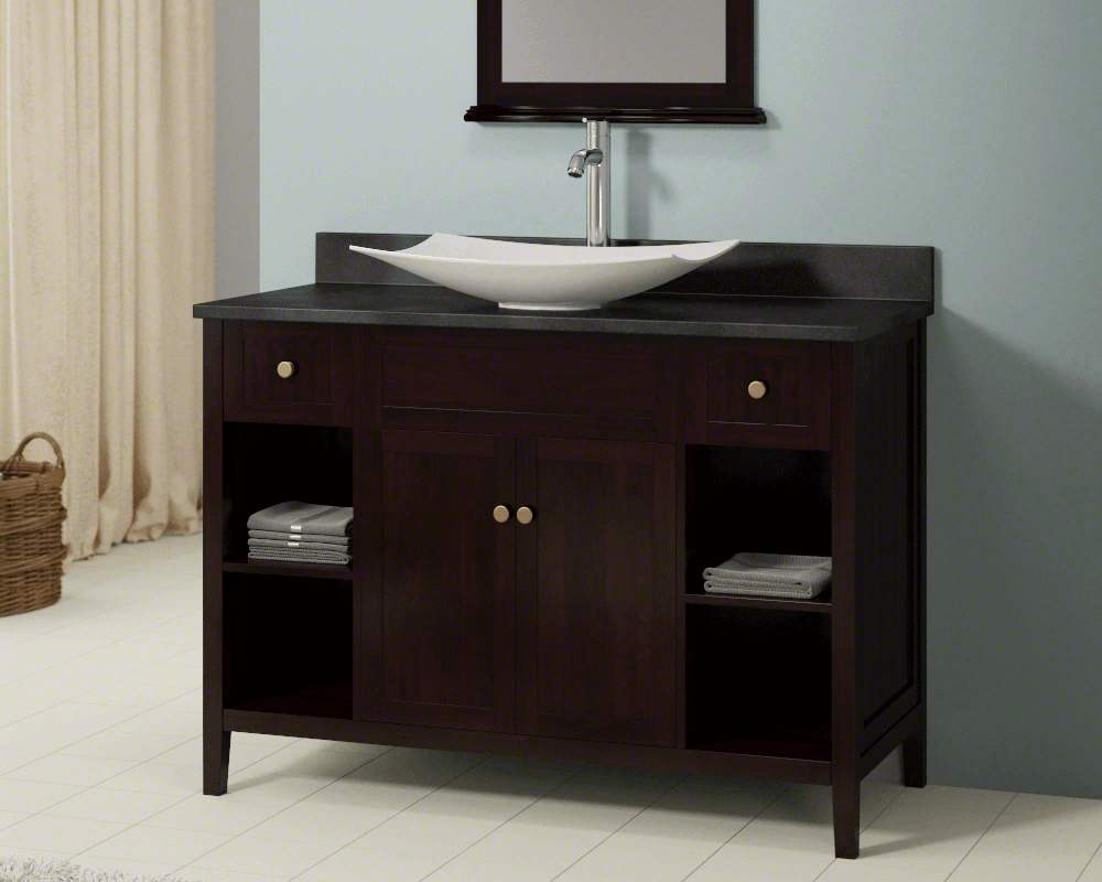 Glass Vanity Top Integrated Sink Comfy Home Design - 36 x 19 bathroom vanity for bathroom decor ideas
