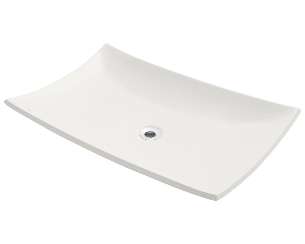 MR Direct V360-Bisque Porcelain Vessel Sink