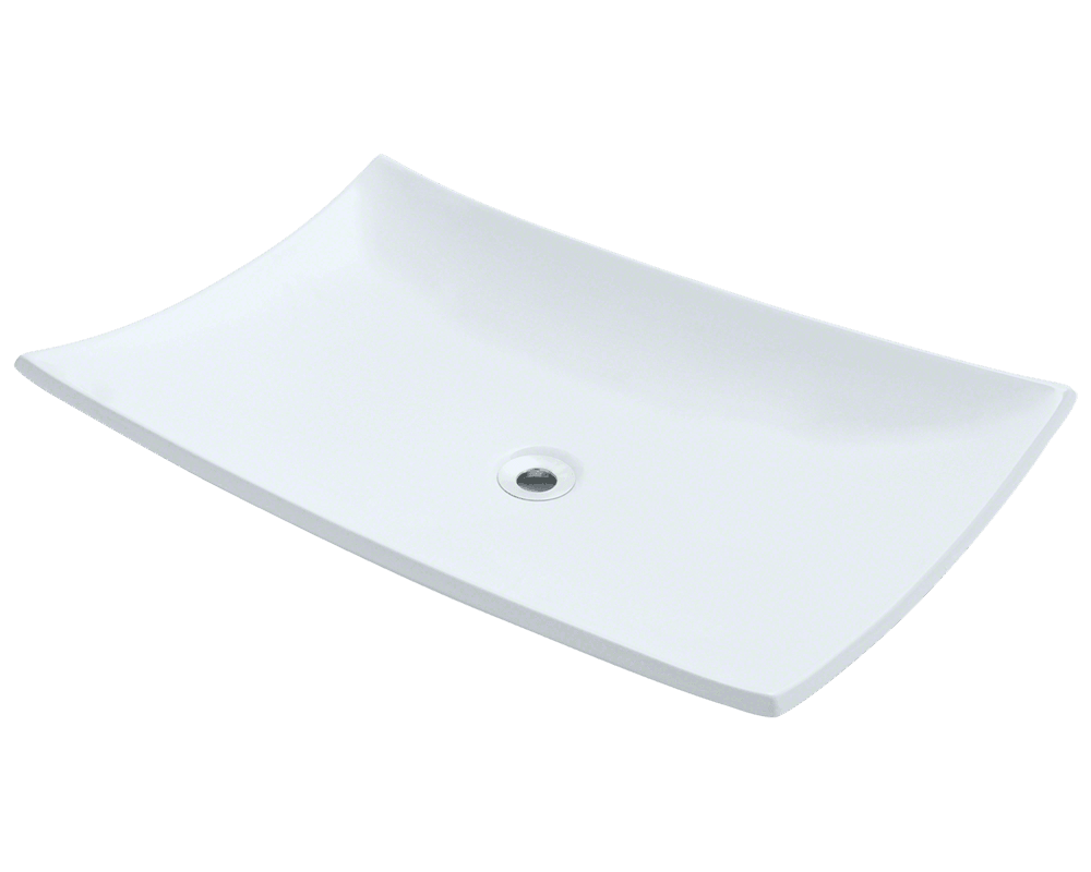 MR Direct V360-White Porcelain Vessel Sink