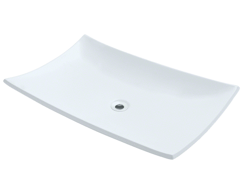 V360-White Porcelain Vessel Sink