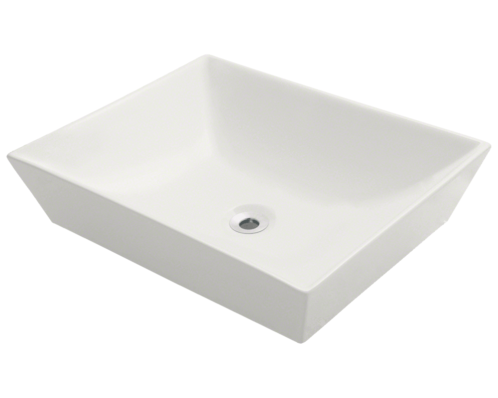 MR Direct V370-Bisque Porcelain Vessel Sink