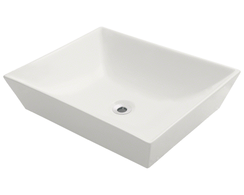 MR Direct V370-Bisque V370-Bisque Porcelain Vessel Sink