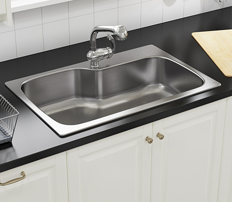 Lovely Dual Mount Sinks Are Made In North America From 300 Series Stainless Steel  And Have A Variety Of Bowl And Gauge Options. The Chemical Property,  Composition, ...